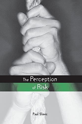 9781853835285: The Perception of Risk (Risk, Society and Policy)