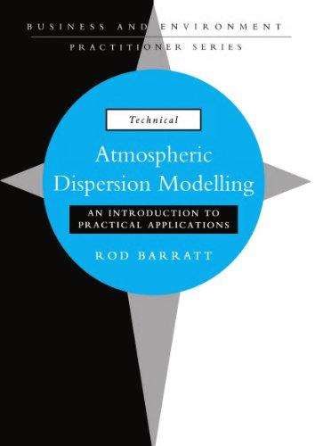 9781853836428: Atmospheric Dispersion Modelling