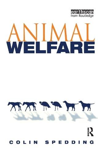 9781853836725: Animal Welfare