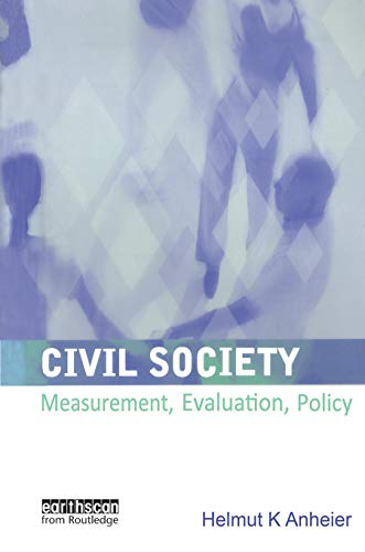 9781853838859: Civil Society: Measurement, Evaluation, Policy