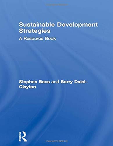 9781853839467: Sustainable Development Strategies: A Resource Book