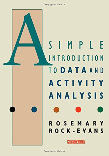 9781853840012: A Simple Introduction to Data and Activity Analysis