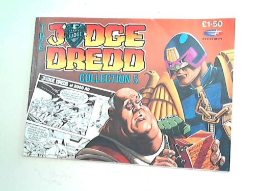 Judge Dredd Collection No 5(1990): JOHN WAGNER, ALAN