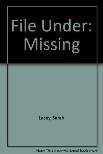 9781853894992: File Under: Missing