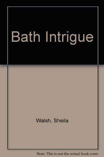 9781853899591: Bath Intrigue
