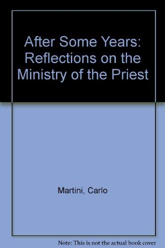 9781853900389: After Some Years: Reflections on the Ministry of the Priest