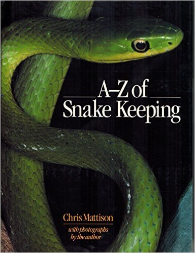 9781853910739: A. to Z. of Snake Keeping