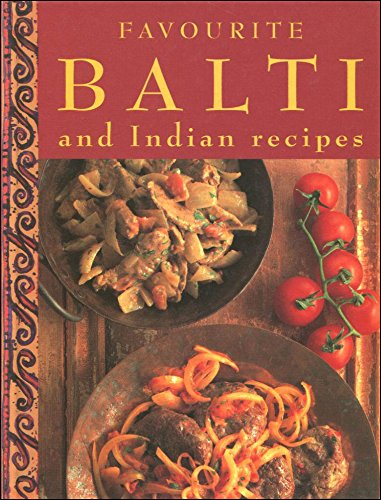 9781853915567: Favourite Balti and Indian Recipes