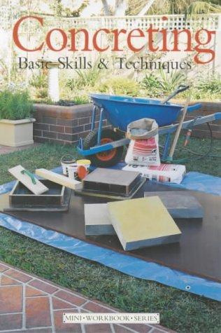 9781853918636: Concreting: Basic Skills and Techniques (DIY Mini Workbook)