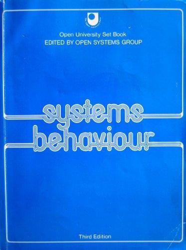 9781853960253: Systems Behaviour