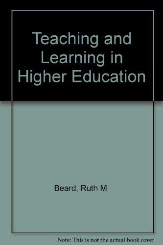 9781853960932: Teaching and Learning in Higher Education