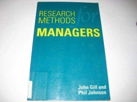 9781853961199: Research Methods For Managers