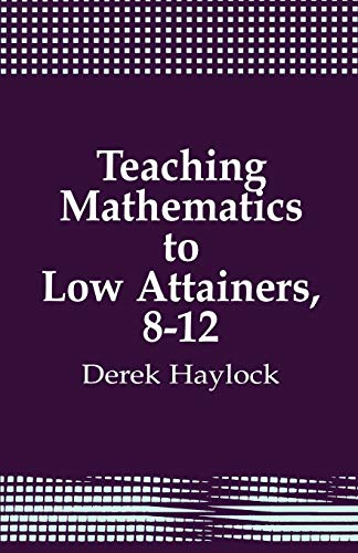 9781853961519: Teaching Mathematics to Low Attainers, 8-12