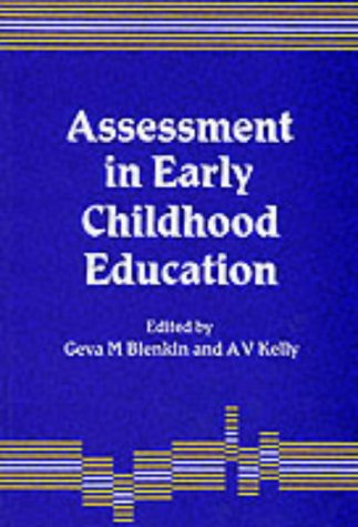 9781853961533: Assessment in Early Childhood Education