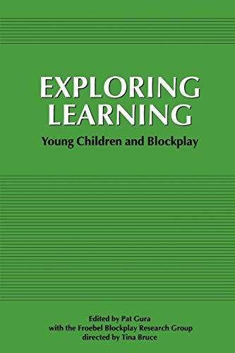 9781853961717: Exploring Learning: Young Children and Blockplay (New Studies in Education)