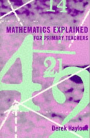mathematics explained for primary teachers pdf