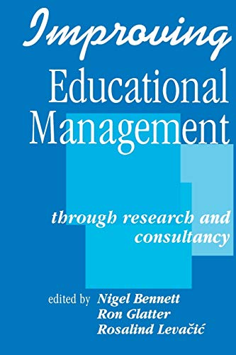 Improving Educational Management: Through Research and Consultancy