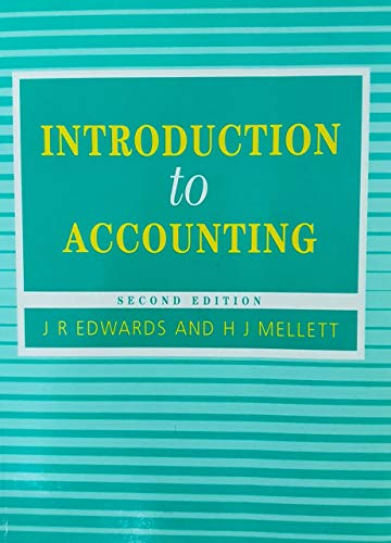 9781853962783: Introduction to Accounting (Accounting and Finance Series)