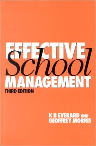 9781853963223: Effective School Management (1-off Series)