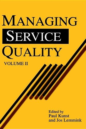 9781853963308: 2: Managing Service Quality (Quality Management in Services)