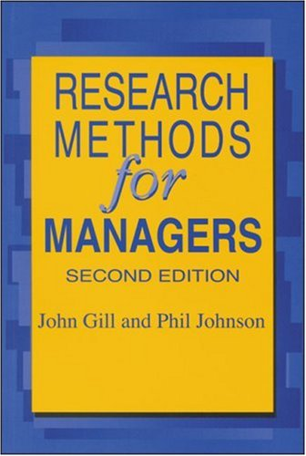 9781853963506: Research Methods for Managers