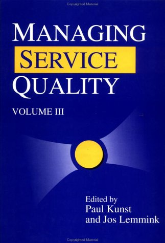 9781853963629: 3: Managing Service Quality (Series on Quality Management in Services)