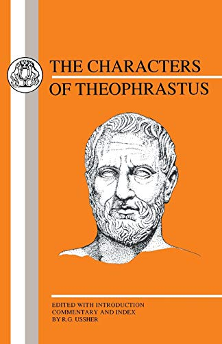 9781853991882: Characters of Theophrastus (Greek Texts)