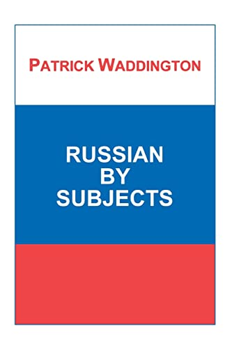 9781853992469: Russian by Subjects (Russian Studies)