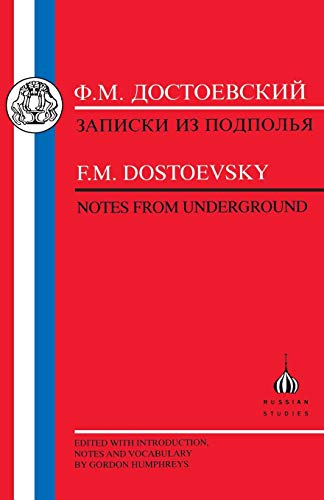 9781853992643: Dostoevsky: Notes from Underground (Russian Texts)