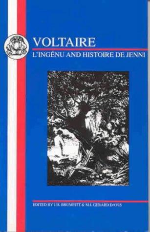 9781853992865: Voltaire: L'Ingenu and Histoire de Jenni (French Texts)