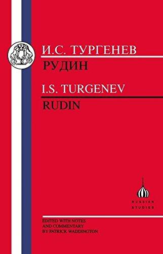 9781853992964: I.S. Turgenev: Rudin (Russian Texts)