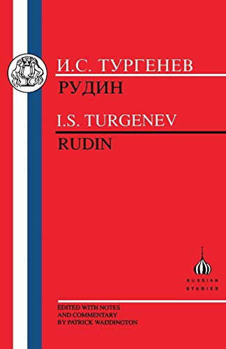 9781853992964: Turgenev: Rudin (Russian Texts) (Russian and English Edition)