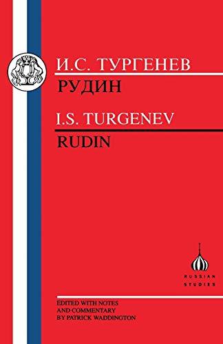 9781853992964: Turgenev: Rudin (Russian Texts) (Russian and English Edition)