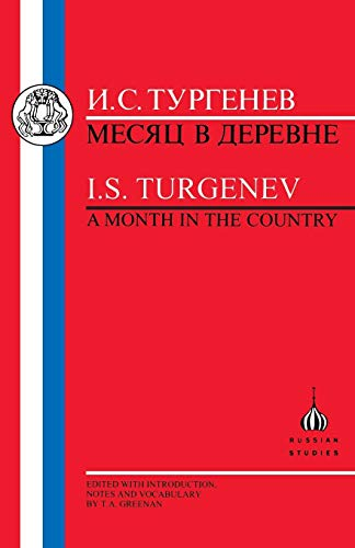 9781853993206: Turgenev: Month in the Country (Russian texts)