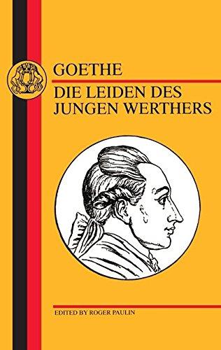 9781853993237: Goethe: Die Leiden Des Jungen Werthers
