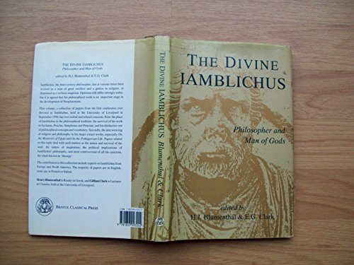 9781853993244: Divine Iamblichus: Philosopher and Man of Gods