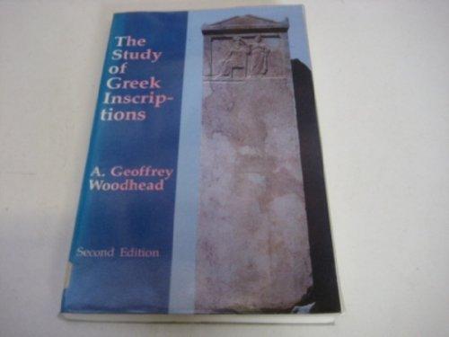 9781853993282: Study of Greek Inscriptions (Greek Language)