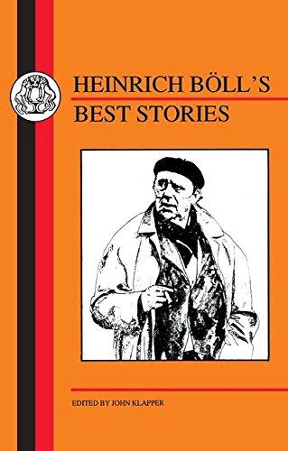 9781853993336: Böll's Best Stories (German Texts)