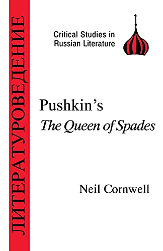 9781853993428: Pushkin's The Queen of Spades (Critical Studies in Russian Literature)