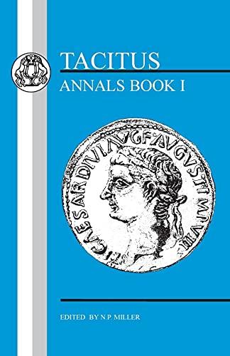 9781853993589: Tacitus: Annals I (Latin Texts) (Bk. 1)