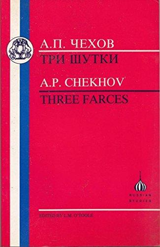 9781853993602: Three Farces (Russian Texts)