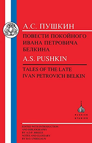 9781853994029: Pushkin: Tales of the Late Ivan Petrovich Belkin (Russian Texts)