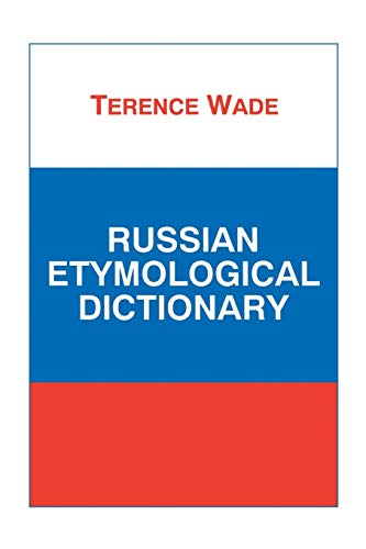 9781853994142: Russian Etymological Dictionary (Russian language series)