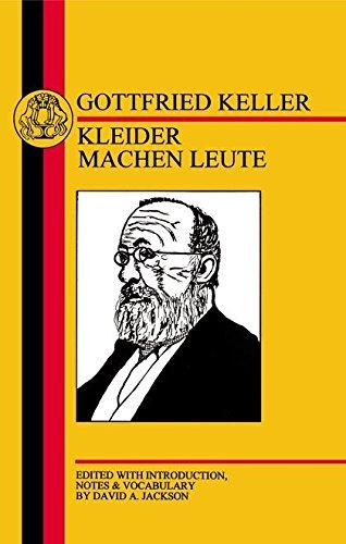 9781853994432: Keller: Kleider Machen Leute (German Texts)