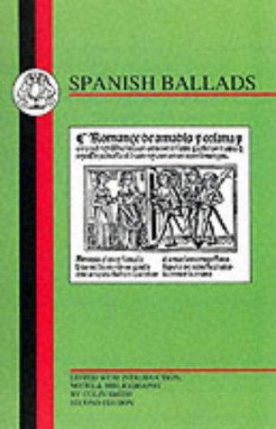 9781853994456: Spanish Ballads (BCP Spanish Texts)