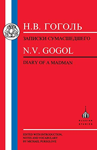 9781853994722: Gogol: Diary of a Madman (Russian Texts)