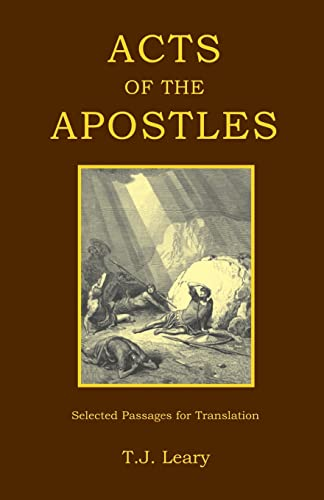 9781853994760: Acts of the Apostles: Passages for Translation