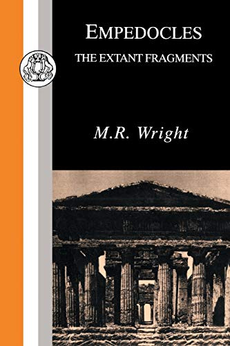9781853994821: Empedocles: Extant Fragments (Classic Latin & Greek Texts in Paperback)
