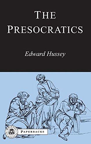 9781853994852: The Presocratics (Bristol Classical Paperbacks)