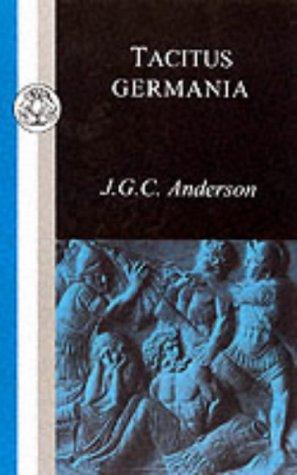 9781853995033: Tacitus: Germania